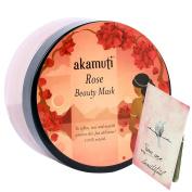 AKAMUTI - Rose Beauty Mask - Purifying Cleansing for Upset & Mature Skin - Promotes an even skin tone - Boosts skin´s repair functions - ORGANIC & VEGAN