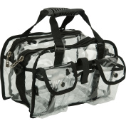 Clear Vinyl Makeup Cosmetic Beauty Storage Bag Case