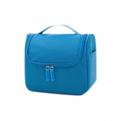 Drasawee Large Makeup Cosmetic Bag Toiletry Storage Organiser Blue