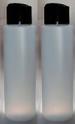 """2 Pack Refillable 470ml HDPE Squeeze Bottles With """"Stand On The Cap"""" Dispenser Tops--Great For Lotions, Shampoos, Conditioners and Massage Oils From Earth's Essentials"""