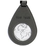 Pin Drop Bag Tag (Grey)