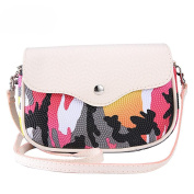 DZT1968 Mini Lovely Type Messenger Shoulder Camouflage Makeup Bag
