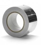 Aluminium Foil Tape + Liner - Silver (48mm x 45m) - 5 Rolls