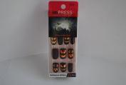 Impress Press-on Manicure Glow in the Dark Halloween Edition Nails - Oh So Shriek