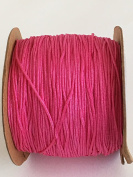 Hot Pink Nylon Cord Braided 0.8mm 109 yards per roll