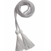 White Honour Cords Polyester Yarn