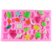 Mujiang Diamond Gems Assorted Craft Polymer Clay Resin Silicone Casting Moulds