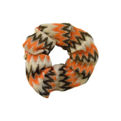 Colourful Zig Zag Scrunchie Pony Holders Hair Accessory