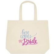 Here Comes the Bride Wedding Bride Tote Bag