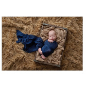 OULII Baby Wrap Photography Photo Prop Stretch Wrap Baby Long Ripple Wrap
