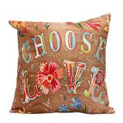 Pillow Case,Dirance(TM) Home Decor Flower Letters Square Pillow Case Sofa Waist Throw Cushion Cover