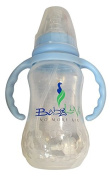 Baby Luv Feeding Bottle - Unbreakeable - BPA Free - 180 ml - Suitable for Babies 0-9 months - Easy on Baby & Parents - Avoid Post-Feeding Problems Like Gas, Burping & Fussiness
