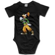 Happy Cartoon Dog Goofy Baby Onesie Newborn Baby Clothes