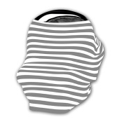 Stretchy Nursing Cover - Multi-use - Great as Car Seat Cover, Stroller Cover, and More!