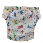 OHBABYKA Baby Training Nappy Pants Reusable Nappy Nappies, Colourful Butterfly