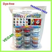 15 Colours Natural Face Paint Makeup Kit PARABEN-free,DYE-free VEGAN Halloween Set