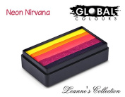 Global Body Art Face Paint - FunStroke Neon Nirvana LC 30gr