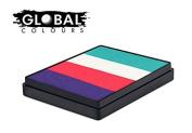 Global Colours Paint - Rainbow Cake Holland 50gr