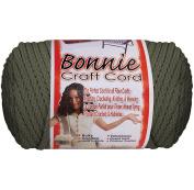 Bonnie Macrame Craft Cord 6Mmx100yd-Smoke Grey