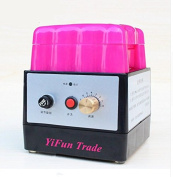 YiFun Trade Electric Dyeing Machine Leather Edge Colouring Dyeing Box Side Oil Bucket 0-280 r/min Speed Adjustable 220V
