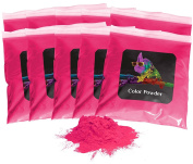Holi Colour Powder 10pk of 0.5kg. Pink