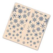 Tattered Lace Gatefold Embossing Folder - Christmas Snowflake