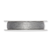 """FloristryWarehouse Glitter Wire Silver 1/16th"""" Diameter on a 273yd Roll"""