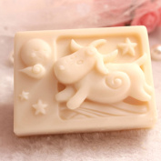 Grainrain Rectangle Mould Silicone Handmade DIY Moulds Soap Craft Art mould Zodiac Aries