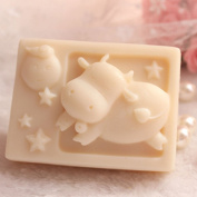 Grainrain Rectangle Mould Silicone Handmade DIY Moulds Soap Craft Art mould Zodiac Taurus
