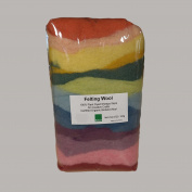 Certified Organic Bioland Plant Dyed Felting Wool