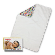 DaffaDoot Luxurious Changing Pad Liner, WaterProof, Plush, Hypoallergenic, Machine Washable / Dryable, Perfect on the Changing Table or as a Travel Changing Mat, Suits Boy or Girl Baby Nappy Changing