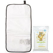 Summer Infant Quickchange Portable Changing Pad with Hand & Face Wipes