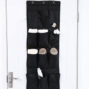 12 Pocket Hanging Door Holder,Tune Up Storage Organiser Closet Shoe Hanger Organiser Box