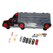DaySeventh Toy Car Large Portable Box Container Truck Toys for Children Gift