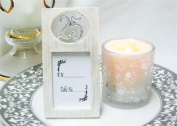 25 Birthday Anniversary Celebration Sliver Picture Frame card holder party favour