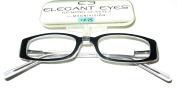 Magnivision Elegant Eyes Vivian Hand-Crafted Women's Readers +2.75