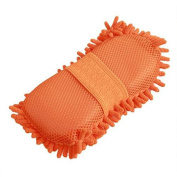 Absorbent Car Microfiber Chenille Wash Sponge Pad Cleaner