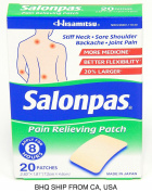 SALONPAS Pain Relief Patches - 20 Patches