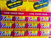 Treet Shaving Double Edge 55 Blades Super Sharp Carbon Steel blades