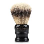 St. James Silvertip Shaving Brush - Ebony Gold (Small