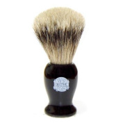 Vulfix Medium Super Badger Shaving Brush with Black Handle