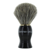 Standard Pure Badger Shaving Brush Country Uncle - Black