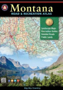 Benchmark Montana Road & Recreation Atlas, 3rd Edition