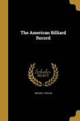 The American Billiard Record