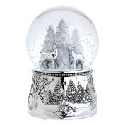 Reed & Barton North Pole Bound Christmas Snowglobe