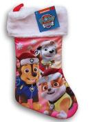 Nickelodeon Paw Patrol Silky Christmas Stocking - 41cm x 23cm
