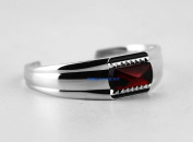 BACCARAT jewellery LOUXOR STERLING SILVER RED MIRROR SMALL BRACELET