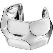 BACCARAT jewellery B MANIA LARGE STERLING SILVER CUFF BRACELET FRANCE NEW
