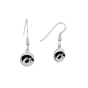Iowa Hawkeyes Round Earrings