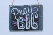 Meijiafei Pray Big Chalk Sign
